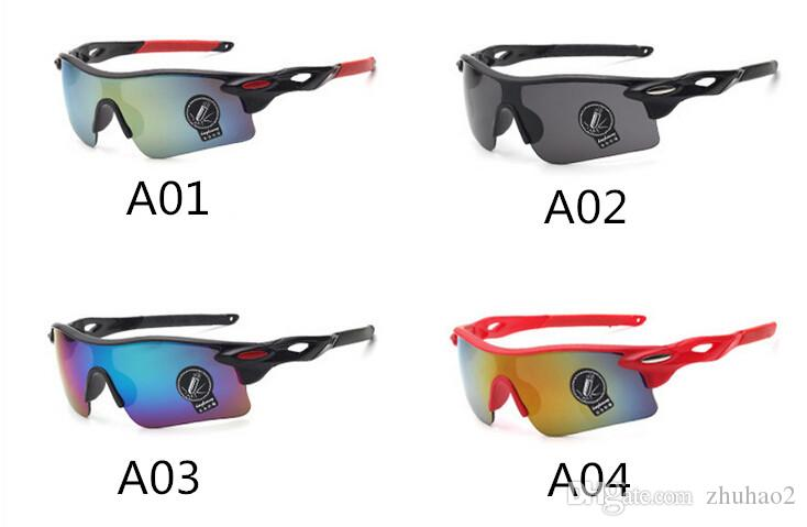 Outdoor Sunglasses Bicycle Glass Summer Outdoor Sunscreen Glasses Newest Style Explosion proof Colorful UV400 Hight Quality Glasses