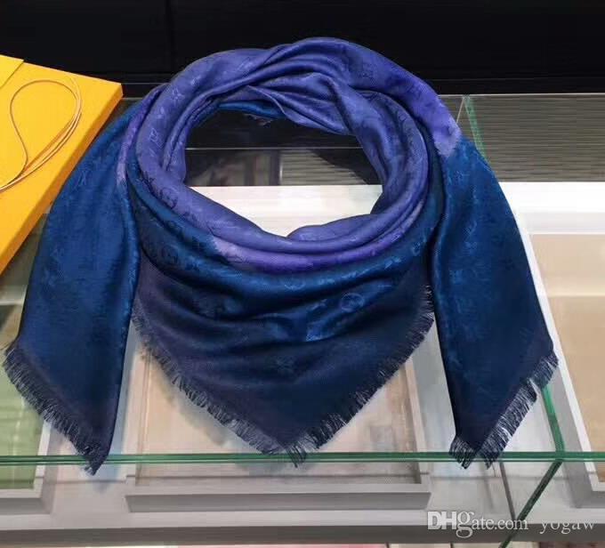 Lusso Blurrygram Sciarpe In Design Di Donna Da Scialle Acquista OAXwEE