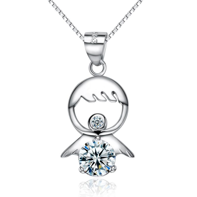 Wholesale A021 China Genuine 925 Silver Angel Pendant High Quality