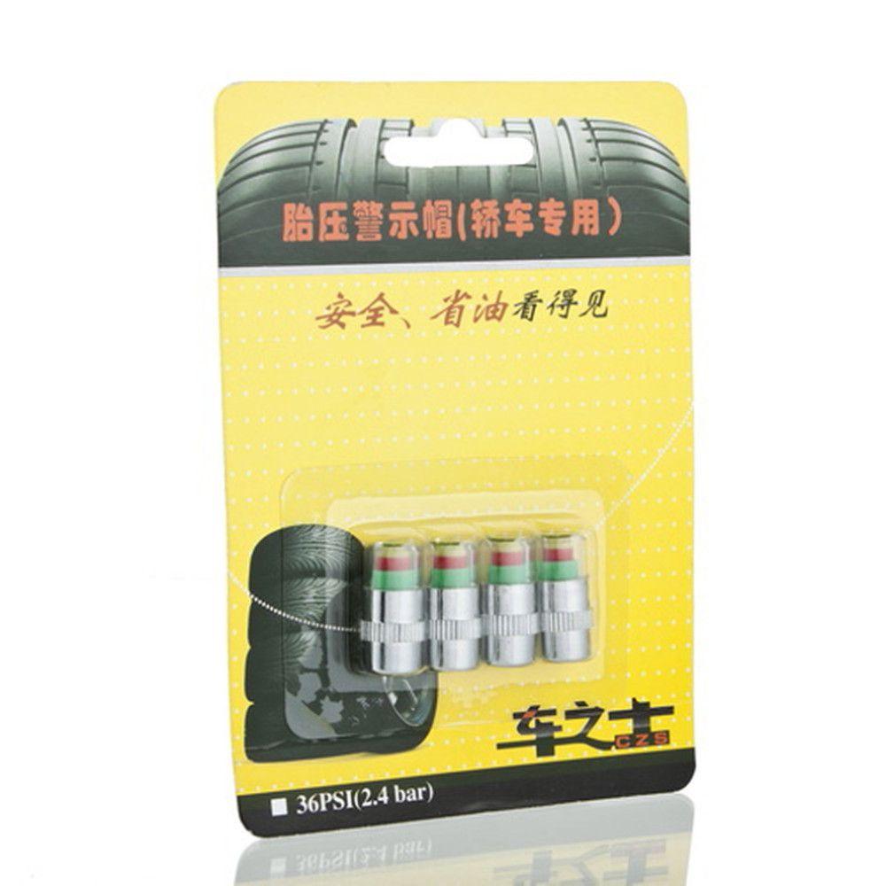 Car Auto Tire Pressure Monitor Valve Stem Cap Sensor Indicator Alert VE265 P
