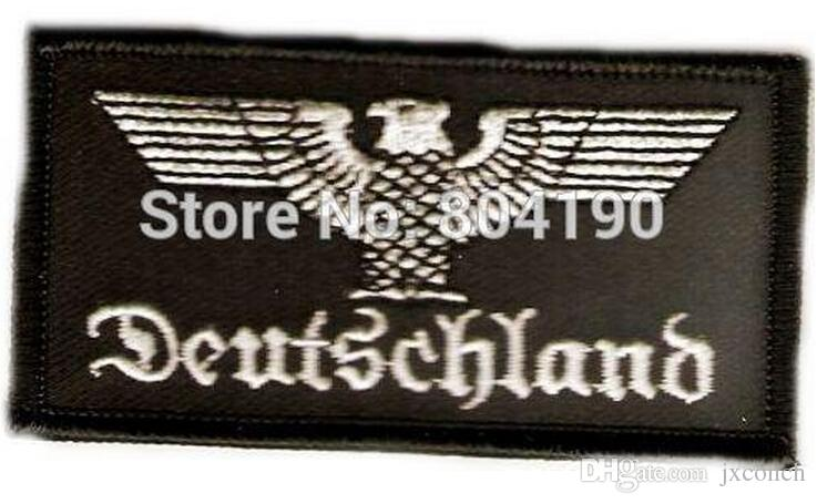 2018 Deutschland Germany Eagle Morale Military Iron On Patch Mc ...