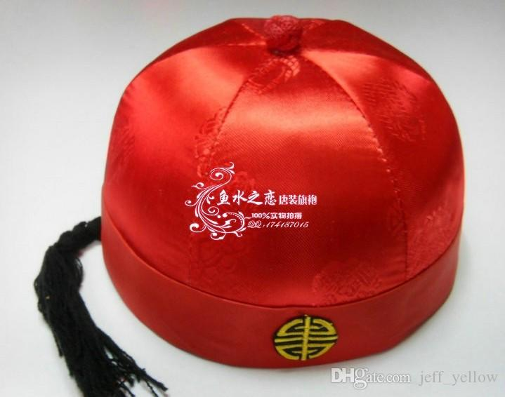 2018 Adult Child Costume Hat Landlords Cap Boys Costume Hat Joyous Chinese Hat Married Performing Cap From Jeff_yellow $15.08   Dhgate.Com & 2018 Adult Child Costume Hat Landlords Cap Boys Costume Hat Joyous ...