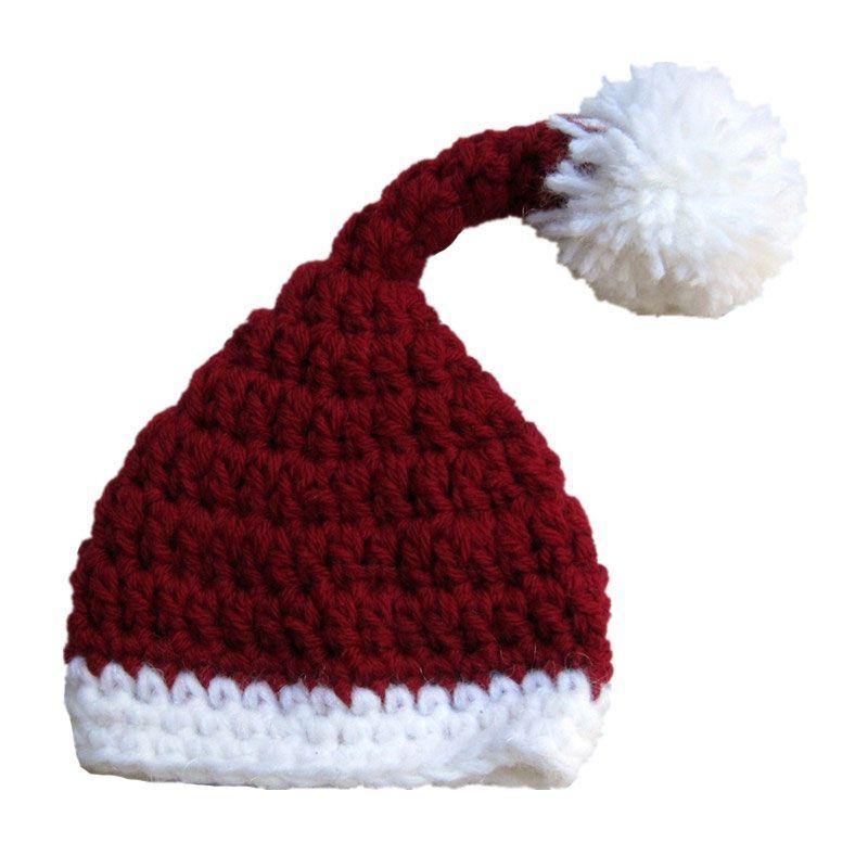 5cfed5a3b345a 2019 Adorable Baby Santa Elf Hat