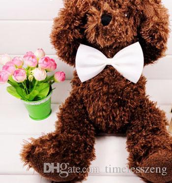Laço do gato Bow Pet Dog mantilha cão laço da gravata Pet Grooming Suprimentos Dog Vestuário Multicolor pode escolher