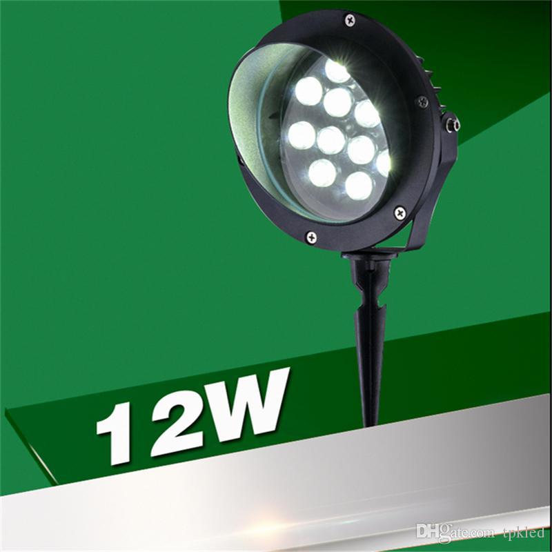 Großhandel Spike Modell Ip65 Outdoor Led Spot Lampe Für Garten, Park,  Bäume, Aufforstung, Landschaft, 100 240v Eingang 12w Spot Licht Von Tpkled,  ...
