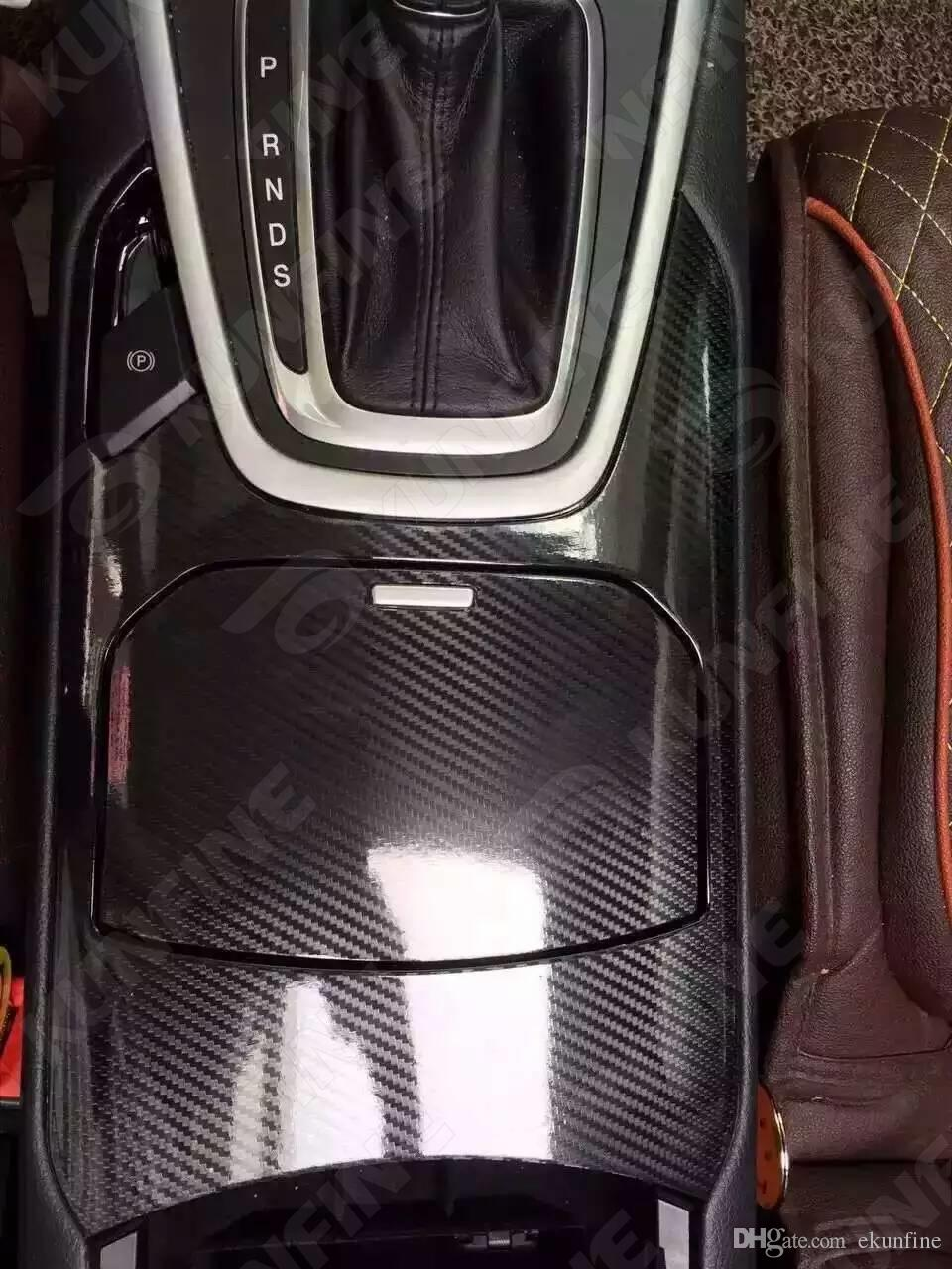 Car Styling Wrap Glossy Black 5D Carbon Fiber Vinyl Car film Body Sticker With Air Free Bubble For Vehiche 1.52*20M /Roll KF-F1035