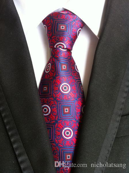 8 Estilos 2016 Trajes de moda para hombres Corbata Poliéster Seda Rayas Corbatas Floral Gravata para hombre Vestidos de negocios Novio Corbata