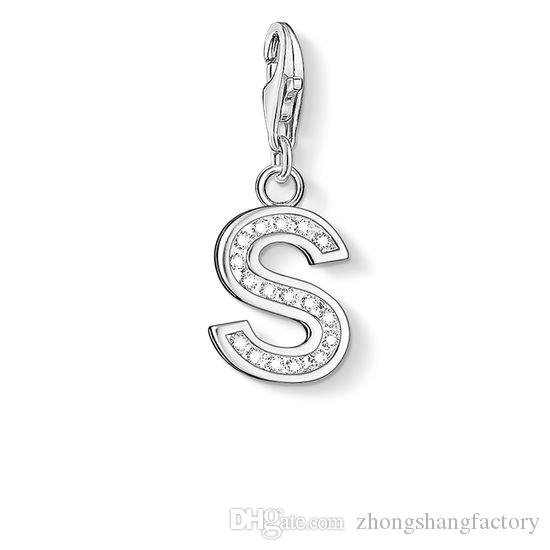 Wholesale charm rhinestone accessories pendant initials s 2017 wholesale charm rhinestone accessories pendant initials s 2017 silver russia american australia wedding bead charms fashion jewelry for women ruby necklace aloadofball Image collections