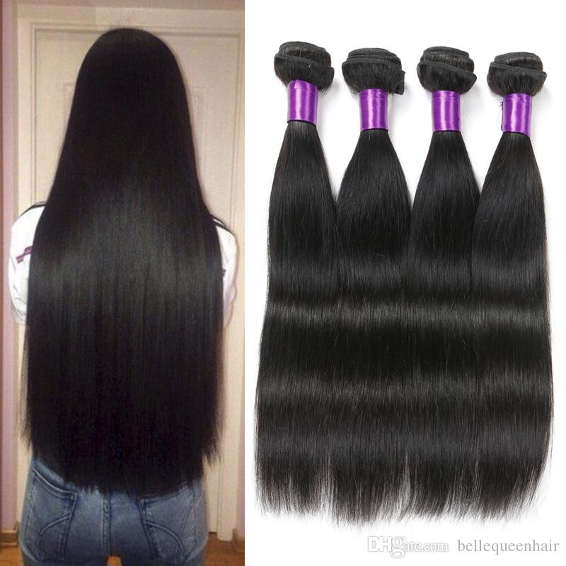 8a Unprocessed Belle Queen Hair Products Indian Virgin Hair