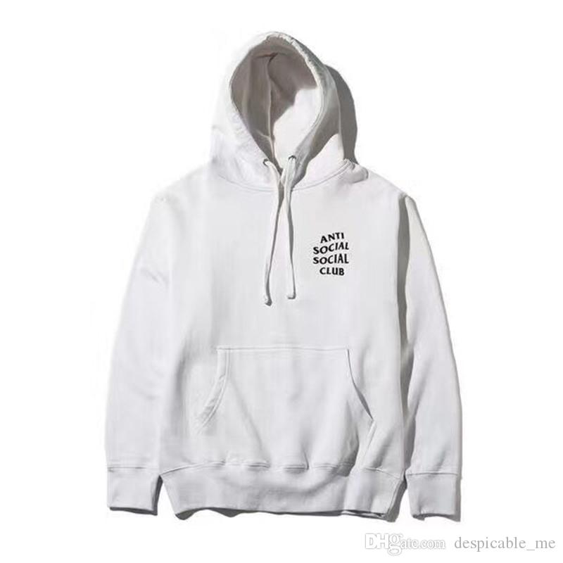 3bcc0e98fb39 Anti Social Social Club Hoodie Kanye Street Wear Mind Games Cotton Hoody  S-3xl Size Pink ASSC Hoody Online with  33.15 Piece on Despicable me s  Store ...