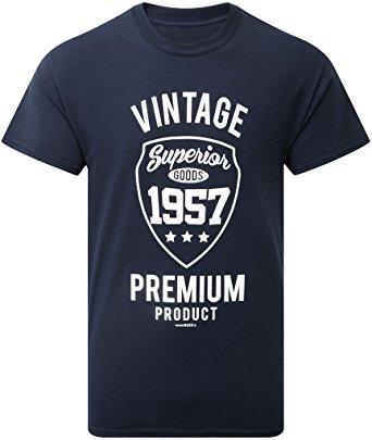 Vintage 1957 Mens 60th Birthday Gift T Shirt Latest Shirts Design Best From Bstdhgate06 1101