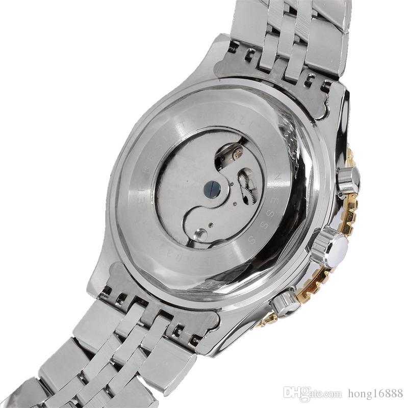 Automatic Mechanical Watches luxury men automatic TOURBILLON stainless watch mechanical sport mens watches JARAGAR Watches Wholesale