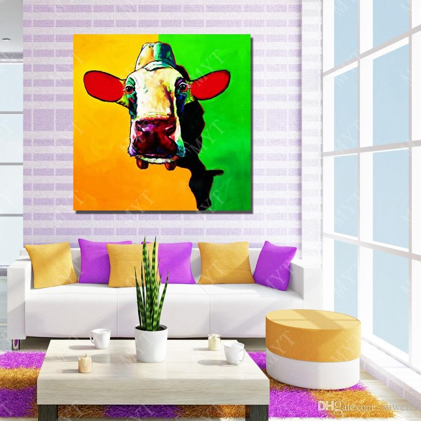 Drop Shipping Cheap Price For Wholesale Top Quality Canvas Animal Subject Hand Painted Acrylic Painting Painted By Numbers
