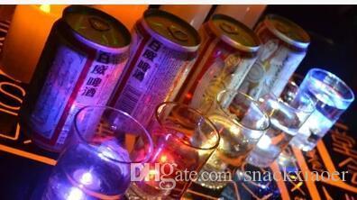 Luce a lume di candela LED da immersione Illuminazione a batteria Decorazione Candela Festa di nozze Luce decorativa natalizia Impermeabile