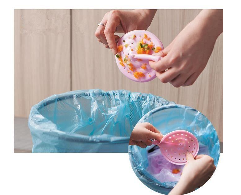 Creative Kitchen and Bathroom Sink Filter High quality Accessories Plastic Drain debris filter net