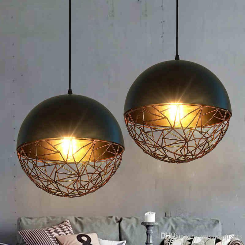 LED Pendant Lamps American Industrial Pendant Lights