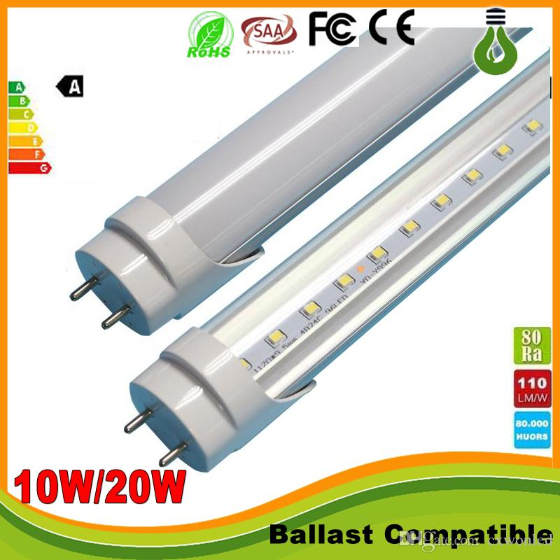 Ballast Compatible T8 Led Tubes 4ft 1200mm Led Tube Lights 18w Warm ...