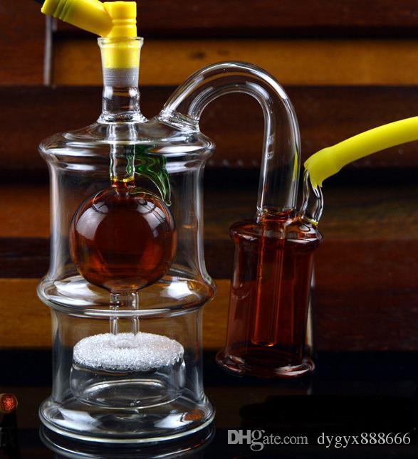 Novo mudo parágrafo vidro criança Hookah, estilo, cor, entrega aleatória, canos de água, bongos de vidro, vidro Hookahs, cachimbo
