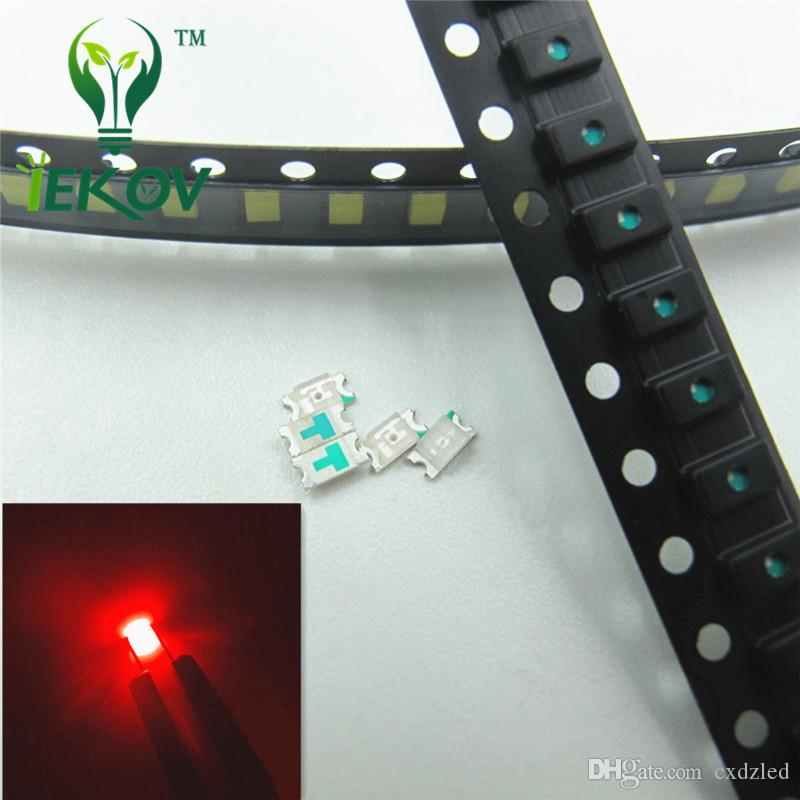 100 Pcs 0805 Smd Orange Amber Led 600-610nm Smt Led Light Diode Water Clear Diy Super Bright Diodes Electronic Components & Supplies