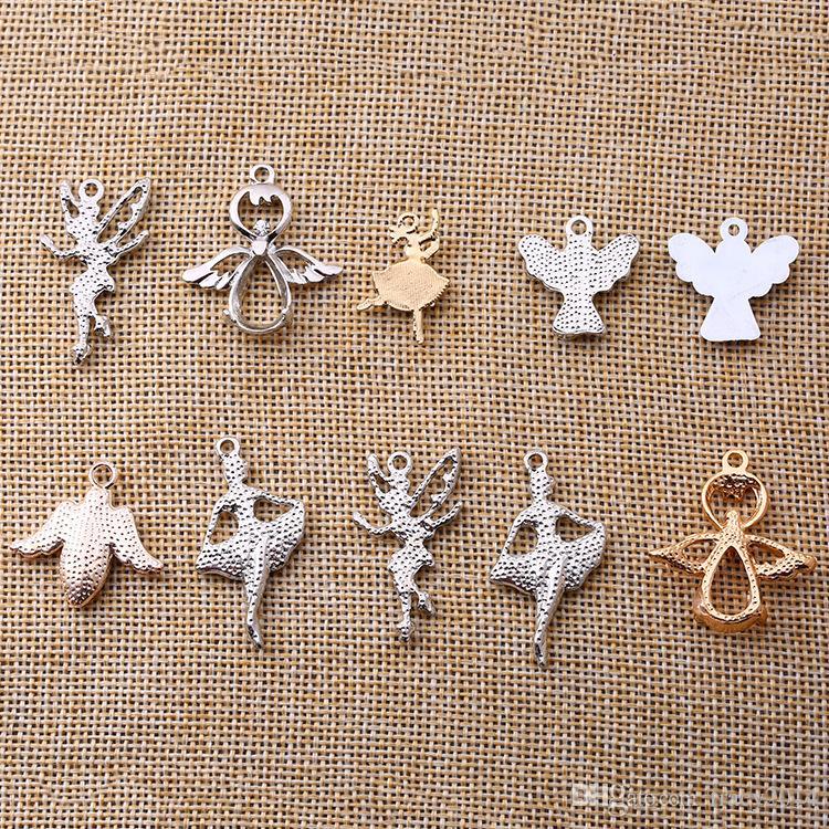9 Arten mischen Korne für Pandora-Charme-Korne Reizende passende europäische Armbänder Pandoraart-Valentinstag Armband-Schmucksachen DIY Kristallcharme
