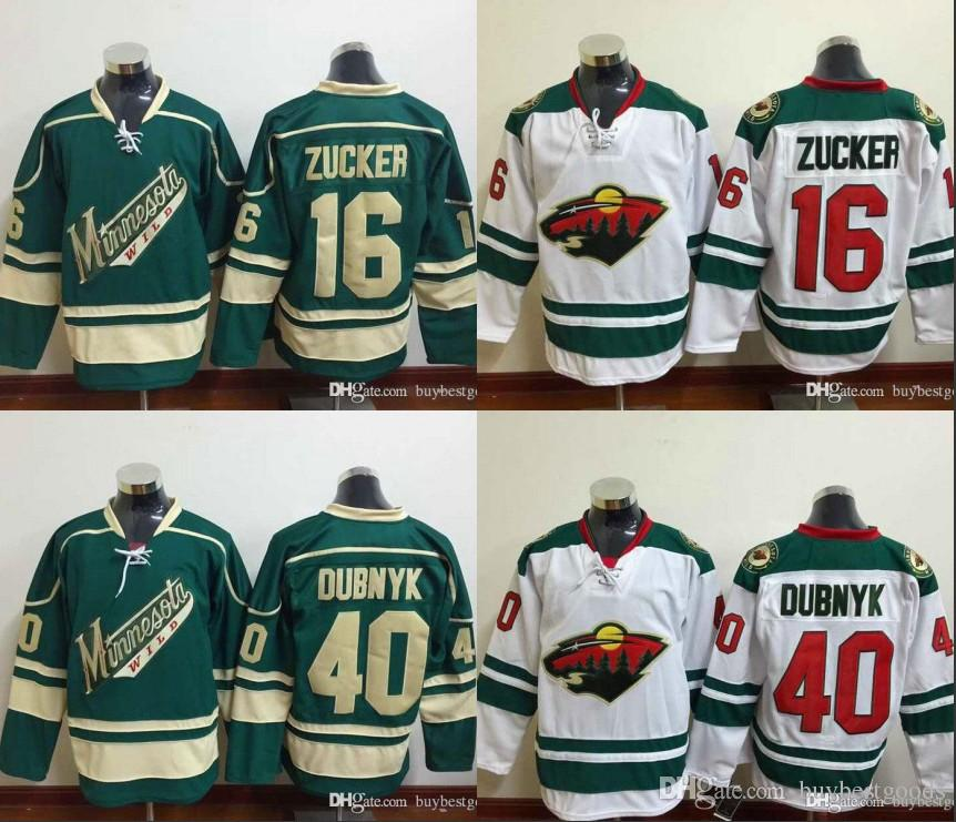 Discount Minnesota Wild #40 Devan Dubnyk Jersey Ice Hockey Green Red White  Zach Parise Minnesota Wild Jerseys All Stitching Top Quality From China |  Dhgate.