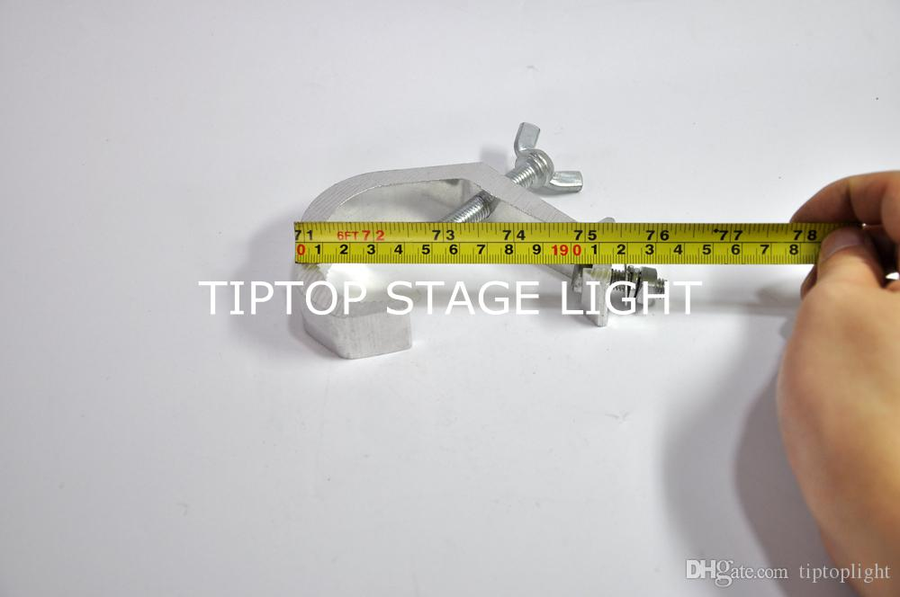 TIPTOP Good Quality Cheap Price 30mm Wide Stage Light Clamp Stage Light Hook Clamp Hook Pipe 32-60mm Bearing Weight 30KG 06A