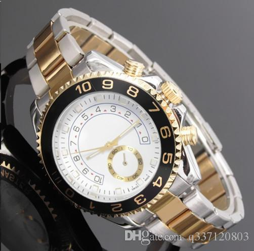 Luxury watch brand luxury high quality men's top military sports chronograph watch glow Huang Jingang quartz watch diamond relogios daydate