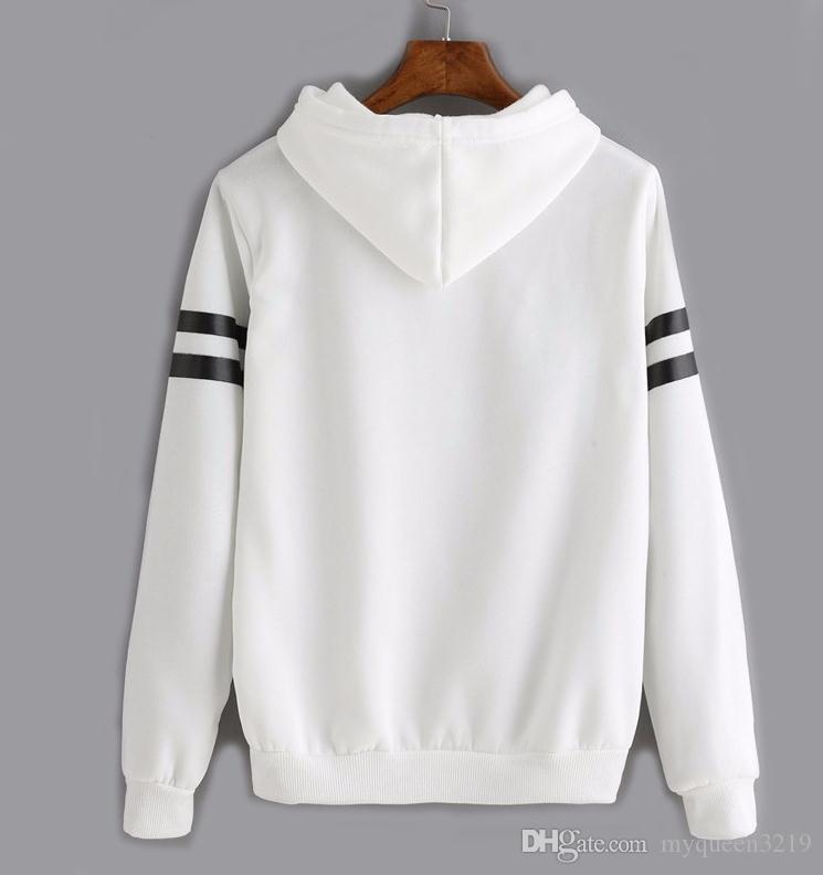 new neon Women Hoodies brand vs mint love pink woman letter pattern pullovers Sportswear Fleece French Terry Sweatshirts