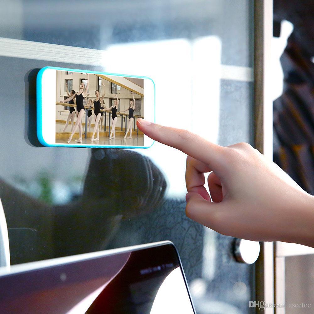 Anti-Schwerkraft-Sticky Fall für iPhone XS XR MAX X 8 für Samsung Hinweis 9 8 S8 S8 Plus magische klebrige Rückseite für iPhone 7 6 6 s Plus S7 Rand