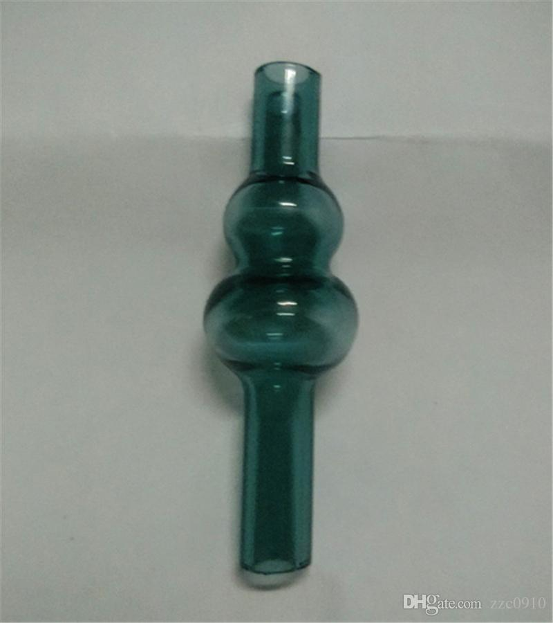 Date universel coloré dôme de boule de calabash de bouchon de carburateur en verre bulle en verre pour des conduites d'eau en verre, XL épais Quartz banger thermique Clous