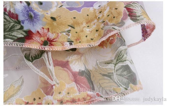 2018 große Mädchen Strickjacke Sonnencreme Kleidung Kinder Langarm Reißverschluss Blumenmantel Mode Mädchen Sommer Spitze Mit Kapuze Dünne Jacke 120-160 cm