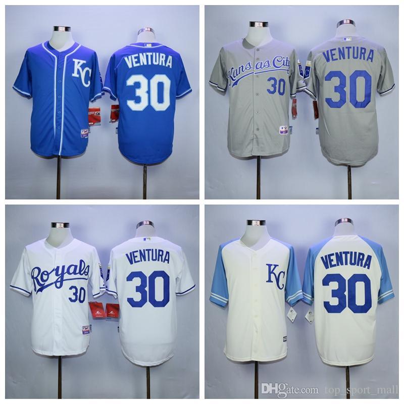 2d28671ce06 ... MenS Kansas City Royals Flexbase Collection 2017 Kansas City Royals  Baseball Jerseys Flexbase 30 Yordano ...