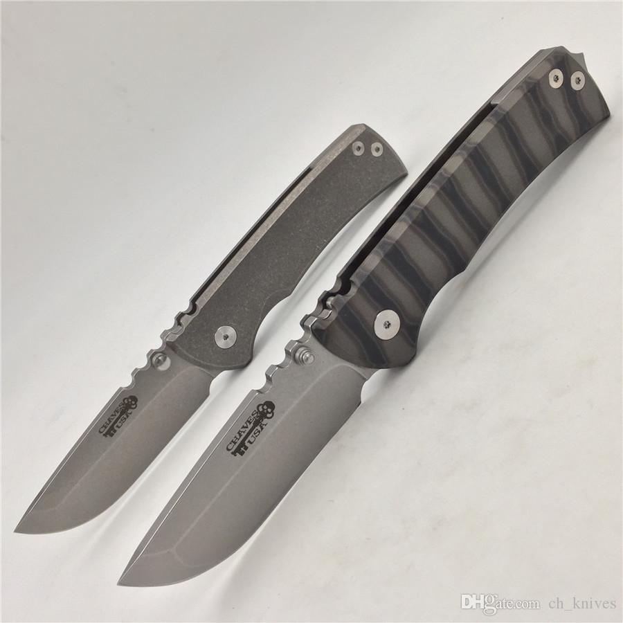 Free Delivery,Samier Knives High Quality Chaves Knives Custom Redencion Folding Knife S35VN Blade Flame Anodized Titanium Handle Tactical Su