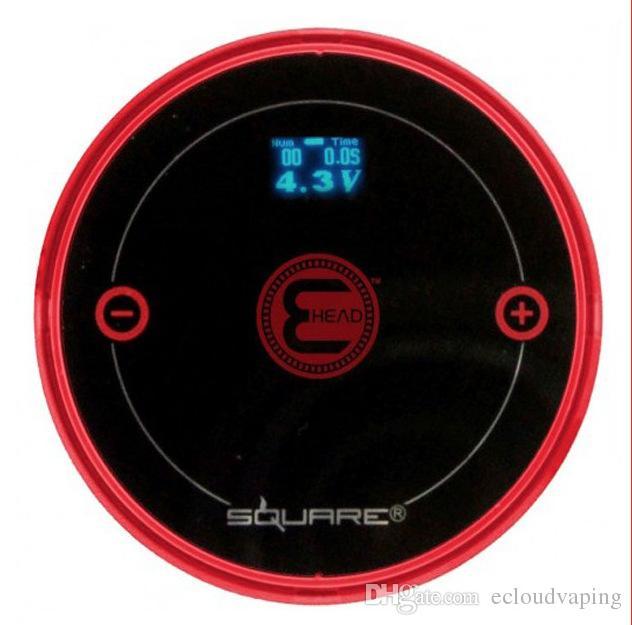 Square e head ehead e hose mini shisha Square Cartridge Refillable ehookah Disposable Hookah 2400MAH Vaporizer 8ml Head DHL