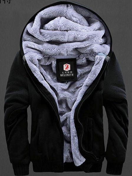 64f1289f424 2017 2016 Coats For Men Fur Lined Hoodie Men S Designer Plus Size .