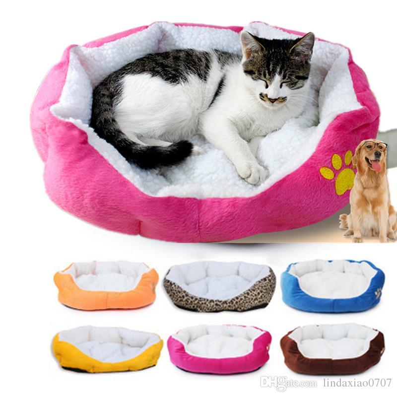 Compre camas para gatos accesorios cama para gatos peque o cordero perro productos para mascotas - Accesorios para camas ...