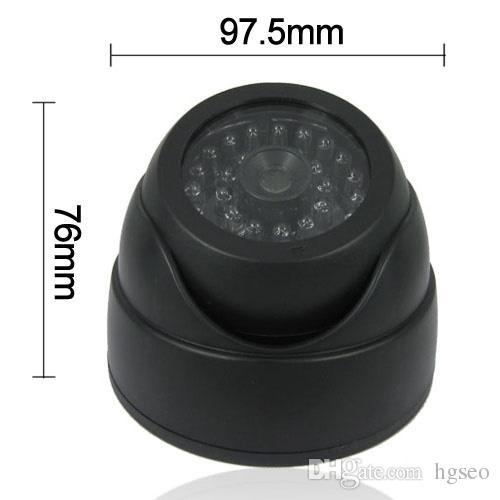 Dummy Fake Simulation Dome Security Camera with False IR LED + Red Activity LED Light CCT_705