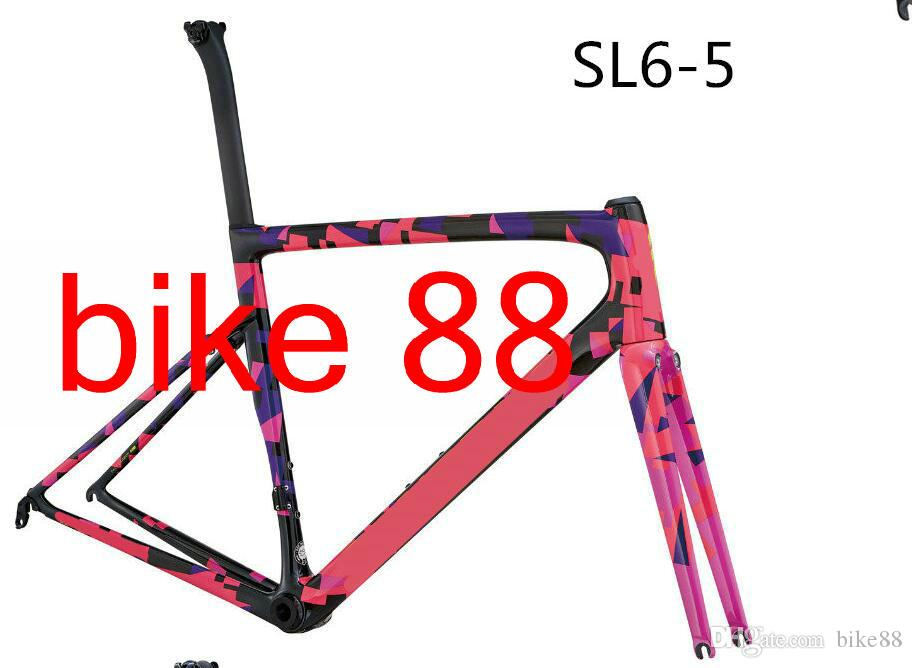 2018 New Arrival Glossy Women/Girl Style Bicycle Carbon Frame White ...