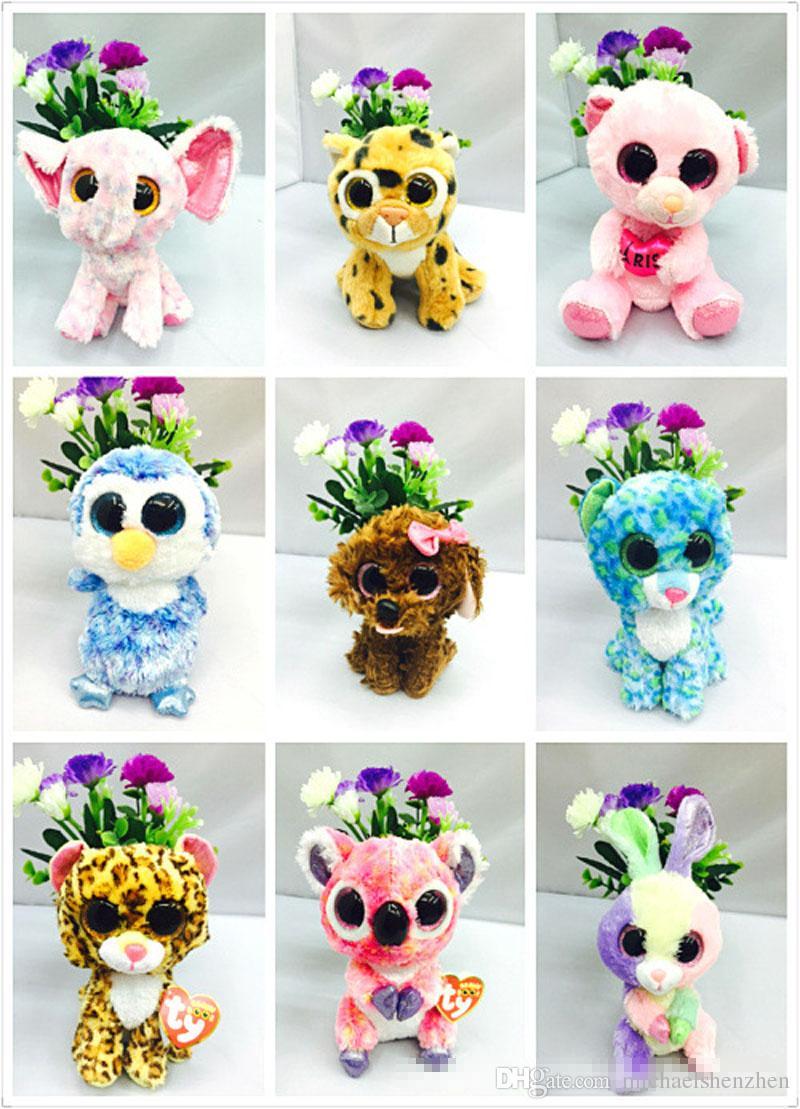 35 Tasarım Ty Bere Boos Peluş Doldurulmuş Oyuncaklar 15 cm Çocuklar için Toptan Büyük Gözler Hayvanlar Yumuşak Bebekler Doğum Günü Hediyeleri ty oyuncaklar B001