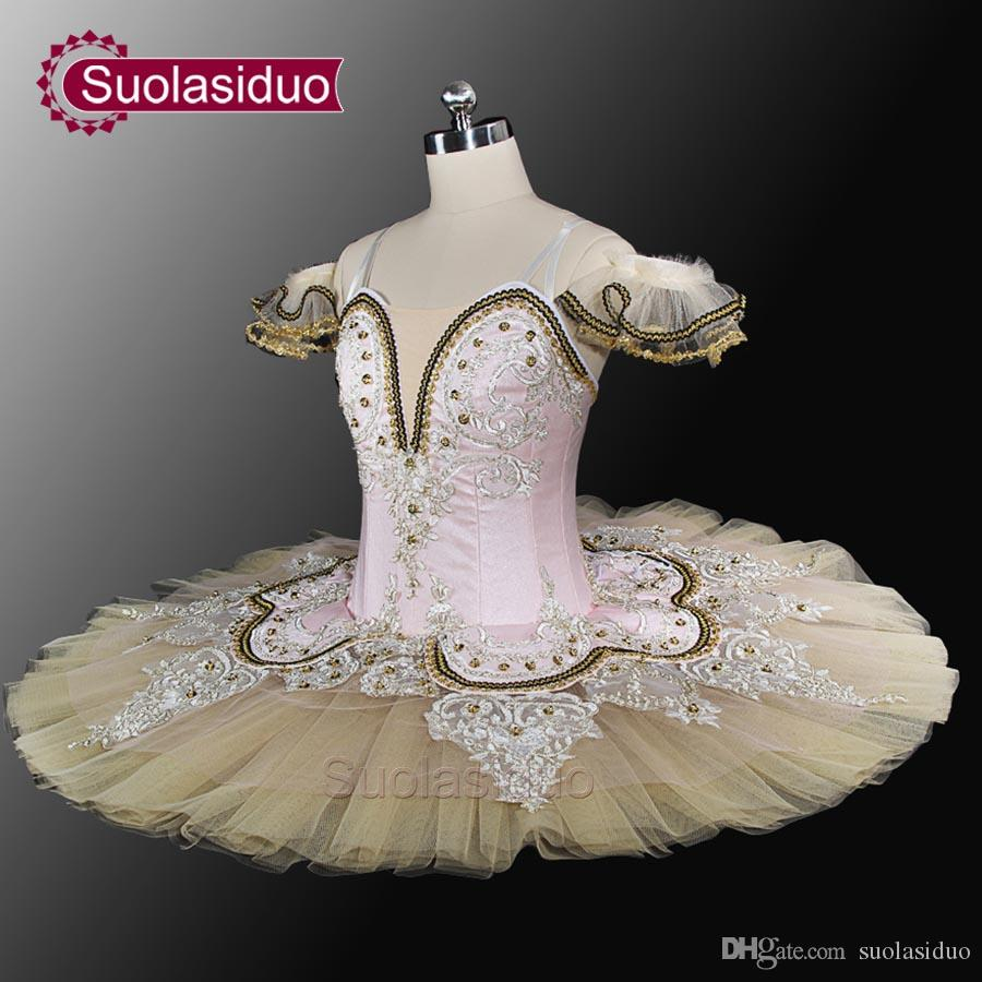Adult Blue Bird Ballet Professional Stage Tutu Blue And White Classical Ballet Performance Costume Customized SD0028