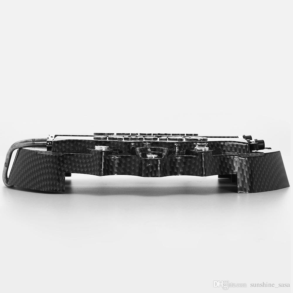 4 stücke Goldene / schwarze kohlefaser Bremssattelbremse Bre Fit für bremszange Abdeckung für 1 3 5 Serie E36 E46 Für E M X 6Z Bremssättel