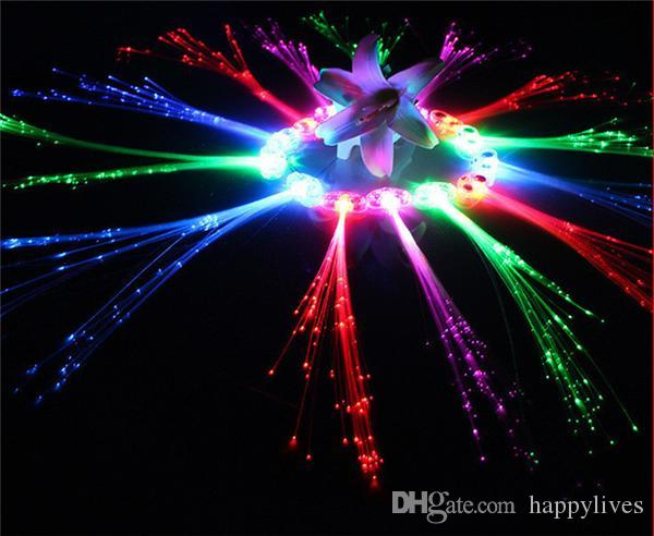 Online Cheap Gleam Of Rope Led Spin Led Sticks Led Toys Luminous light Hair extension flash braid party girl hair glow Fiber optic party christmas Hot By ... & Online Cheap Gleam Of Rope Led Spin Led Sticks Led Toys Luminous ... azcodes.com