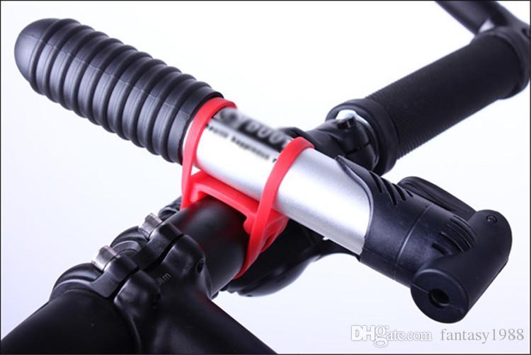 ركوب الدراجات دراجة دراجة سيليكون حزام مطاط ضمادة جبل حامل ربط ربط حزام سيليكون التي الشحن السريع