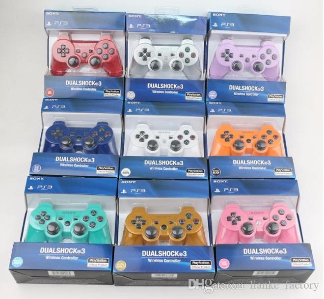 For Sony Playstation 3 2.4GHz Wireless Bluetooth Gamepad Joystick For PS3 Controller Controls Game Gamepad New Hot 11 Colors