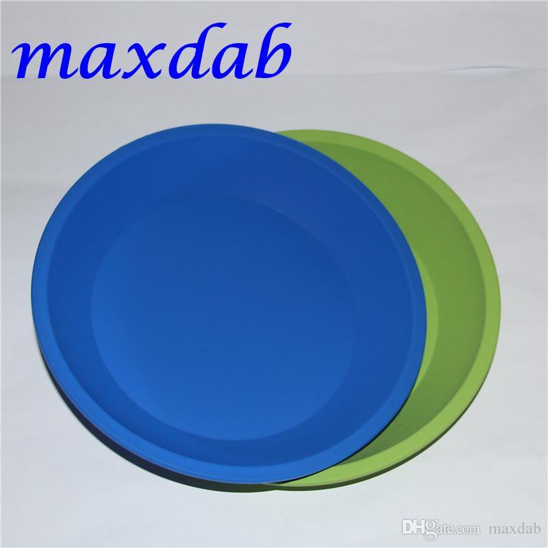 Frete Grátis Bandeja De Silicone Dish Profundo Rodada Pan 8