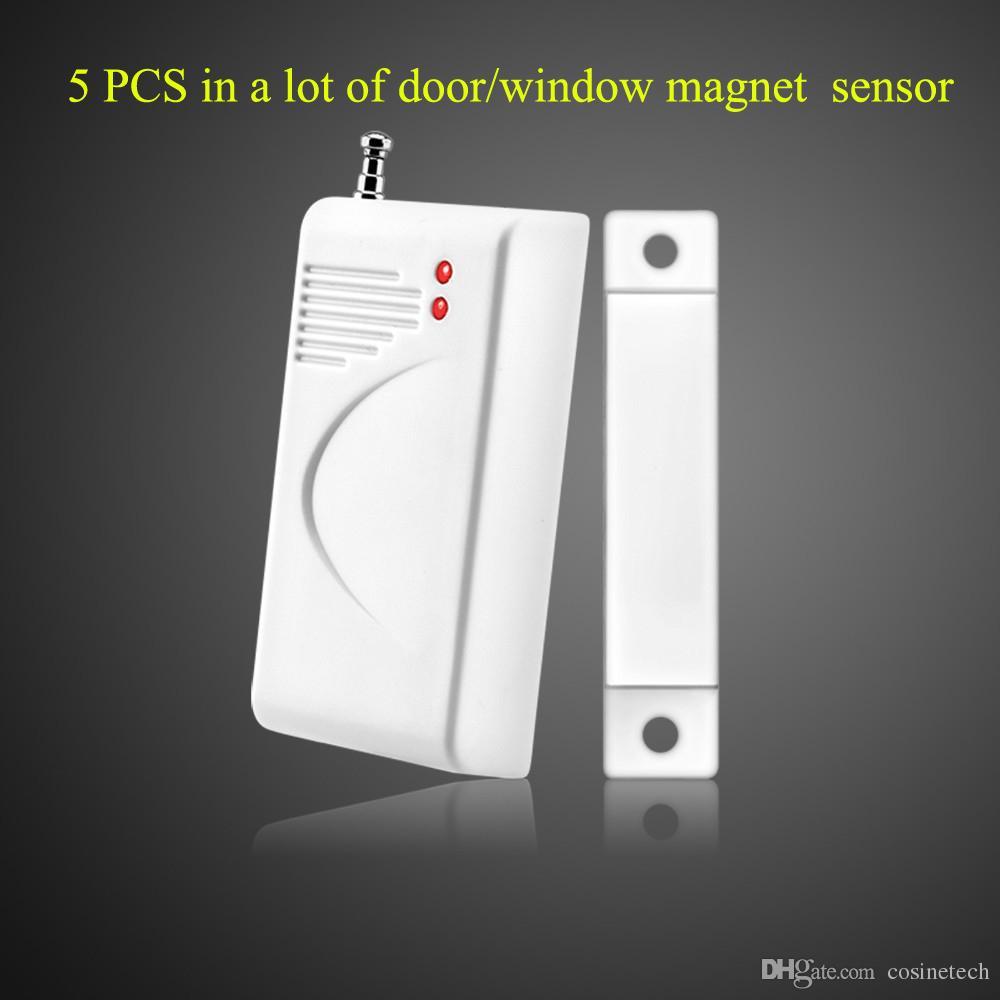 Wireless Door sensor,window detector,security magnatic contact, door contact,default 433MHZ,optional315MHZ door sensor for home alarm system