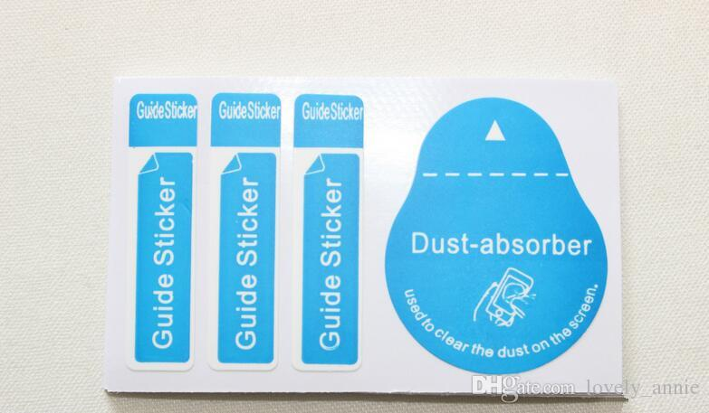 1 + 2 건조 습식 알코올 필름 강 막 진공 가방 필름 전화 스티커 먼지 청소 키트 범용 전화 컴퓨터 카메라 용