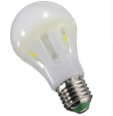 E27 7W 12W 15W 18W a mené l'ÉPI CA 85-265V d'ampoules a mené la lampe de globe à 360 degrés d'angle CRI88 blanc chaud / blanc pur