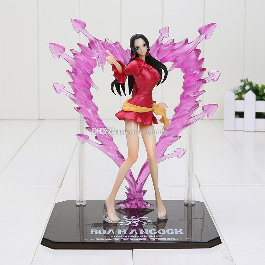 Anime One Piece figure Boa Hancock Empress PVC Action Figure Hancock Fighting Style Figure Model Toy 15CM Free Shipping