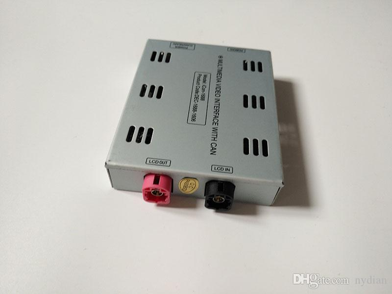 Interfaz de la cámara de visión trasera para el automóvil Audi 4G MMI con pautas de estacionamiento activo